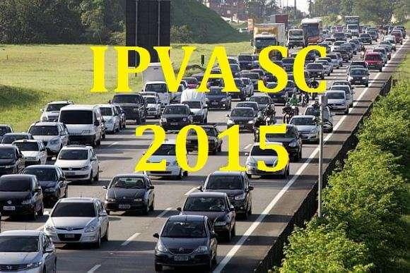 IPVA SC 2015 – Consultar valor, Calendário de vencimentos e formas de Pagamento