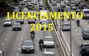 licenciamento de veiculos 2015
