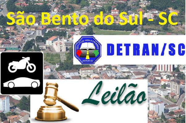 Leilão de veículos em São Bento do Sul SC dia 15/07/2015